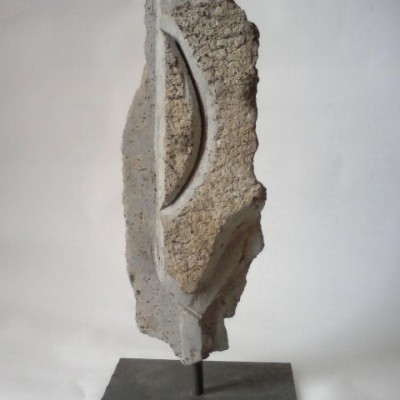 Convergencia - piedra-43 x 14 x 6-2003 -