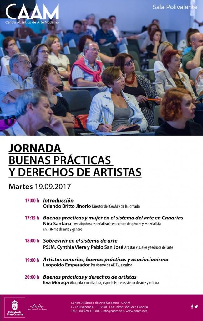 Jornada de buenas prácticas y derechos de artistas